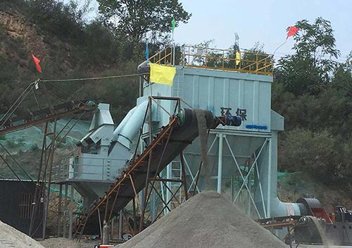 陕西延川砂石生产线