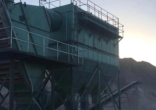 山西泽州石灰岩矿分选除尘系统